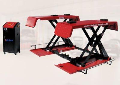 Ponte sollevatore Weber a forbice mobile KHB-1000E
