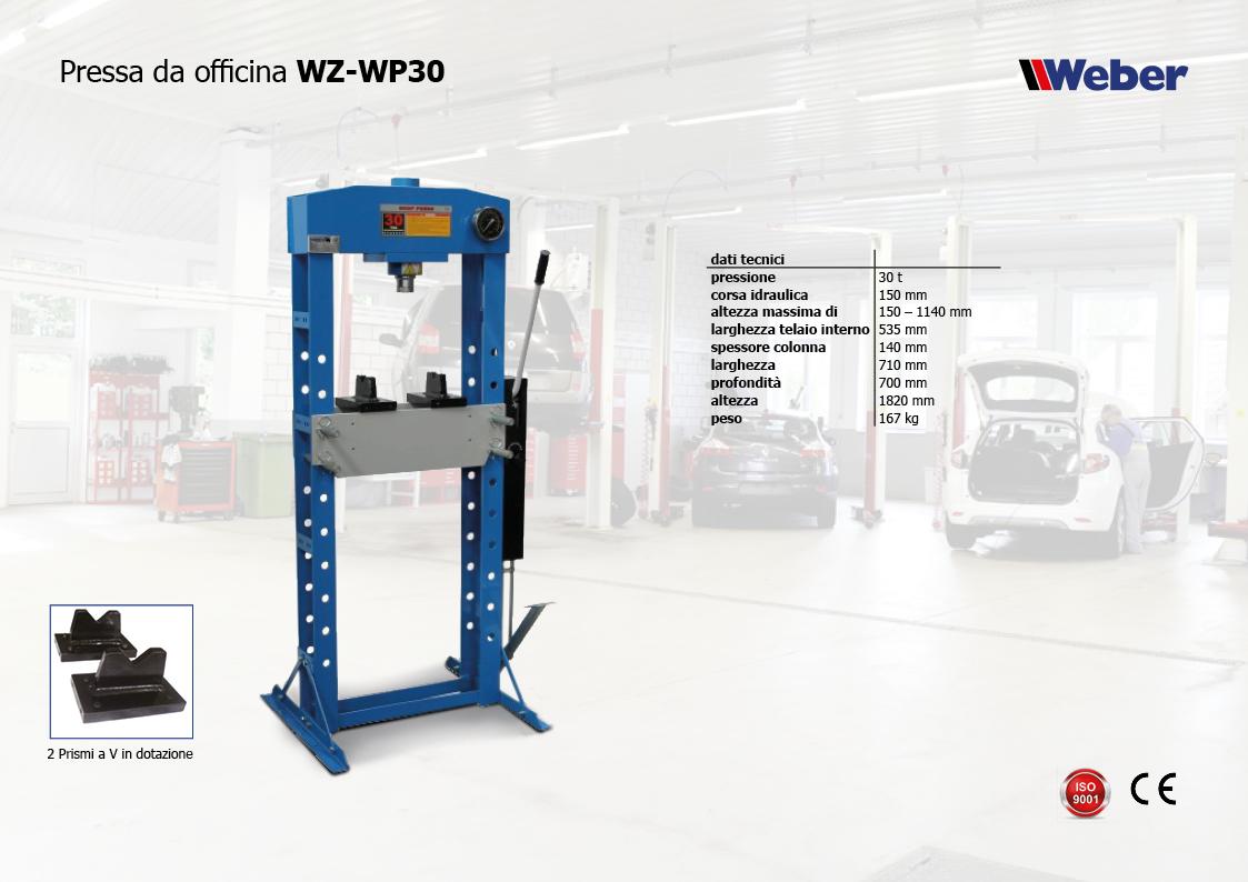 Pressa da officina WZ-WP30