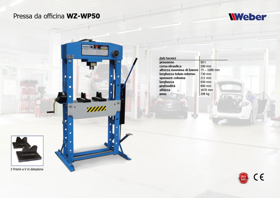 Pressa da officina WZ WP50