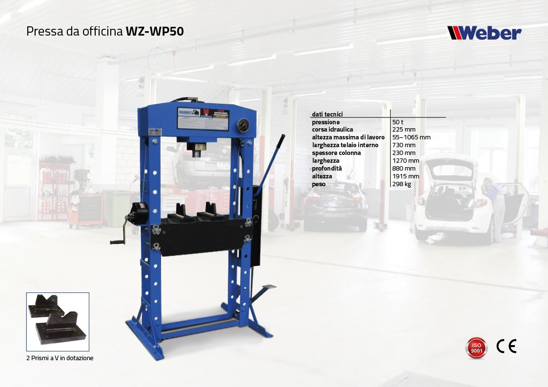 Pressa da officina WZ-WP50