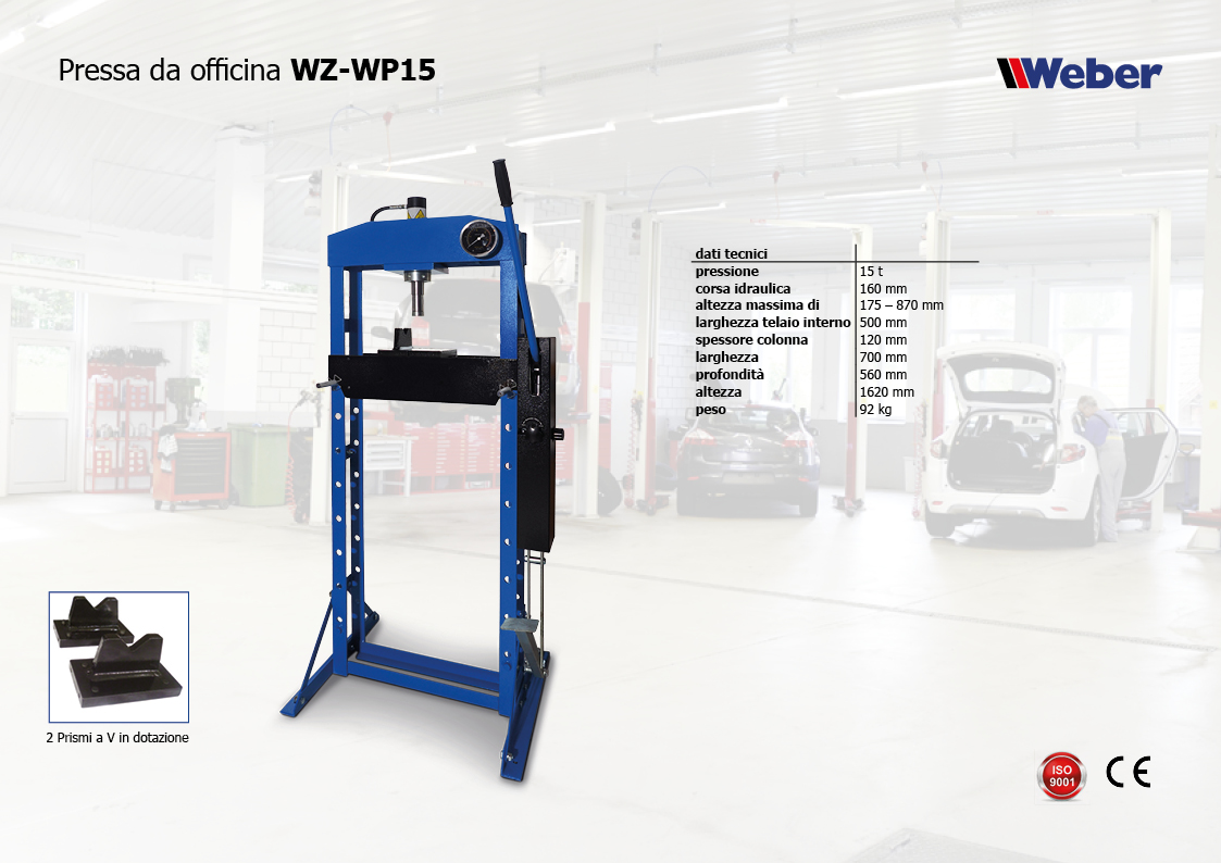 Pressa da officina WZ-WP15