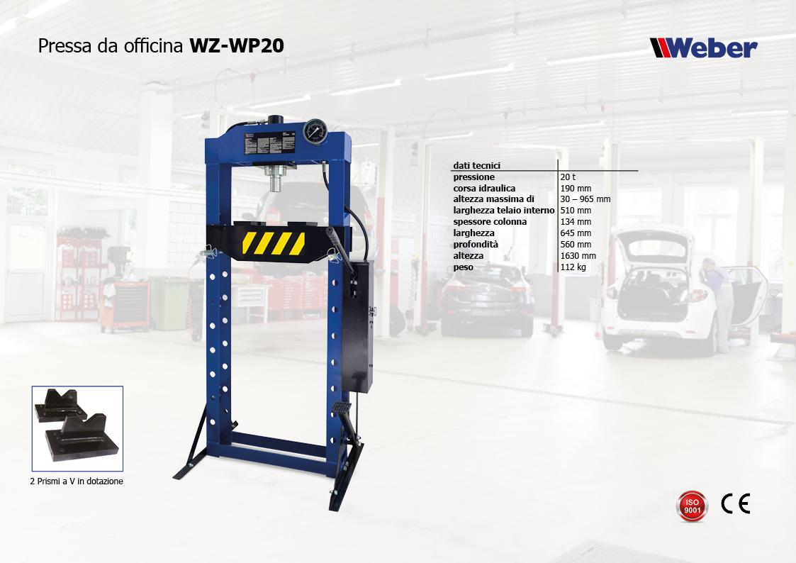 Pressa da officina WZ-WP20