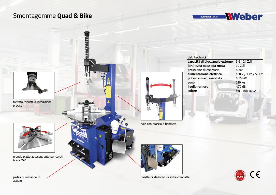 Smontagomme Weber ExpertSerie Quad & Bike