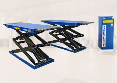 Ponte sollevatore a doppia forbice Weber ExpertSerie DSH-3000