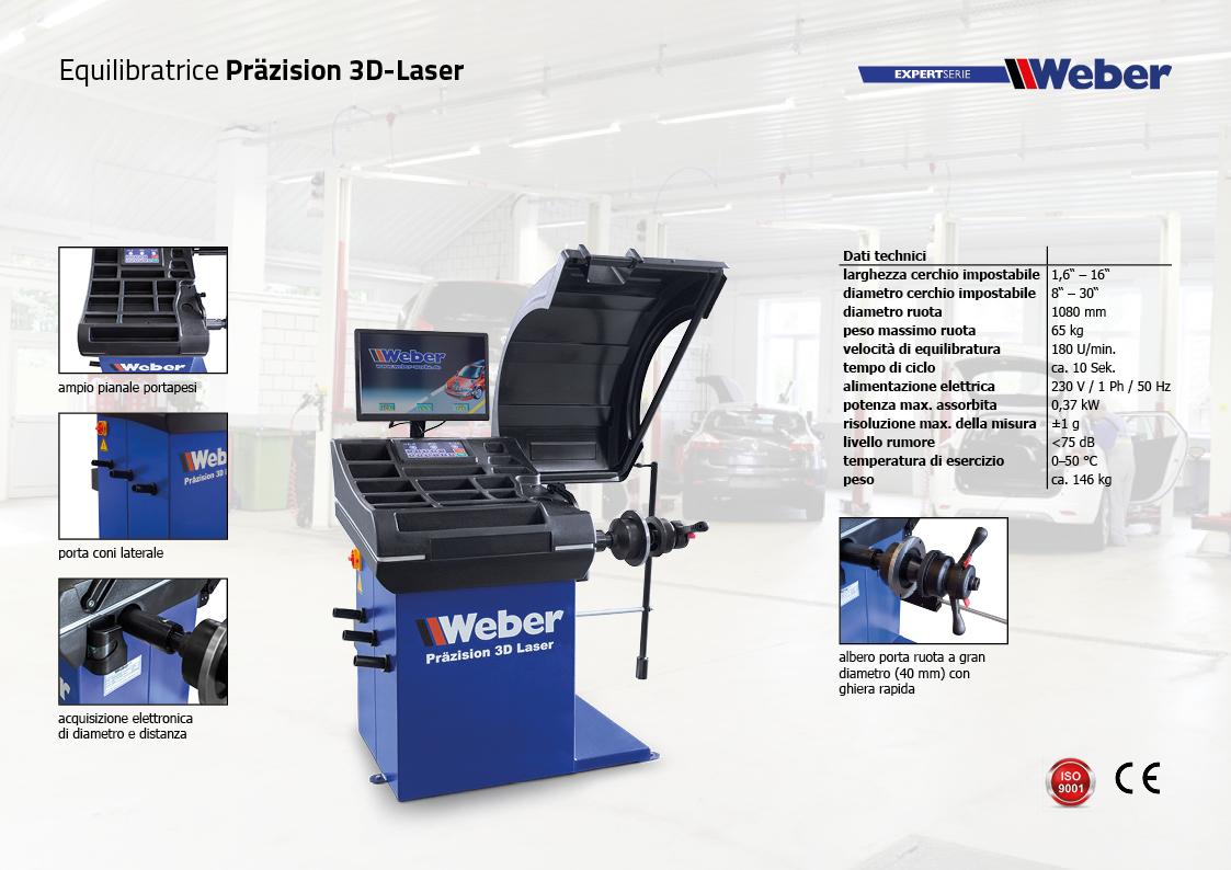 Equilibratrice Präzision 3D-Laser