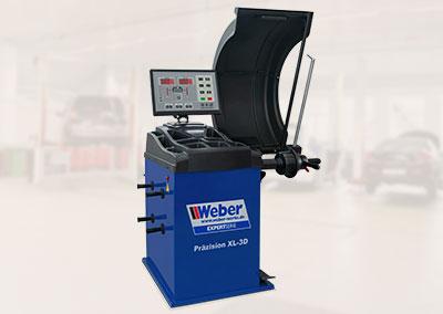 Equilibratrice per ruote di auto Weber Expert Serie Precision XL-3D
